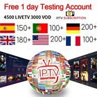 IPTV Subscription 1-12 Months - Free 24 hour trial  <br/> Premium LiveTV & VOD + PPV