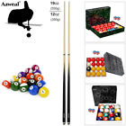 Compact Accessories Kit for Pool Snooker Cues Billiard balls Table! $57.89 AUD on eBay