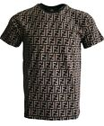 NEW SLIM FIT MENS FENDI T-SHIRT #ART1
