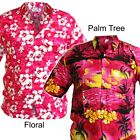 L HAWAIIAN SHIRTS Mens Large Palm Tree Beach Holiday Aloha Stag Do Party Fesival