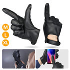 Waterproof Men Women Leather Touch Screen Full Finger Bicycle Motorcycle Gloves