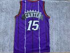 VINCE CARTER #15 Toronto Raptors Swingman throwback Men Jersey Have Shorts <br/> NBA CHAMPS! EXTREMELY FAST SHIPPING!