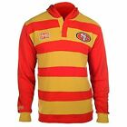 KLEW Men's NFL San Francisco 49ers Cotton Rugby Hoodie Shirt $39.99 USD on eBay