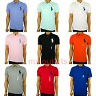 Polo Ralph Lauren Mens Mesh Polo Shirt Custom Slim Fit Big Pony S M L XL XXL