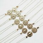 Stainless Necklace Ancient Zodiac Pendant Constellation Gold 12 Vintage Round
