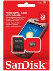 Sandisk Micro SD Memory Card 8GB 16GB 32GB Class 4 Android Smartphones & Tablets