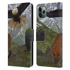 OFFICIAL VINCENT HIE ANIMALS 2 LEATHER BOOK WALLET CASE FOR APPLE iPHONE PHONES