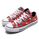 Converse Hello Kitty Chuck Taylor All Star OX Red Men Women Unisex Shoes 163913C