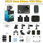 New Akaso V50 Elite Ultra HD 4K/60fps Action Camera CAM 20MP Wifi Touch Screen