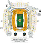 4 Great Aisle Tickets Cincinnati Bengals at Pittsburgh Steelers 9/30 Heinz Field $500.0 USD on eBay
