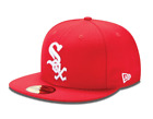 New Era 5950 59FIFTY CHICAGO WHITE SOX RED AND WHITE Fitted Cap Hat on Ebay