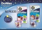 52x Diapers Brief Huggies Drynites I.E. 4 Packs Double Maxi Size 8-15 Years