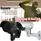 1/2/4PCS Fake Camera CCTV Waterproof Realistic Dummy Security Blinking W/ IR LED