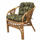 Rattan Wicker Handmade Chair model Calla with Cushions