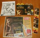 The Lion King 2019 McDonalds Happy Meal ALL Toys #1-#10 & SETS $2.99 Ships ALL <br/> 🤑NEW Lowest CUT PRICES! 👍Bundle & SAVE!  DISCOUNTED!