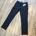 Under Armour Women's Size 2 4 6  Links Fitted Golf Pants 1272344-001 Black $85