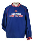 Detroit Pistons Men's Hot Jacket NBA Windbreaker on eBay