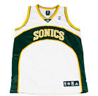 Adidas NBA Men's Seattle Supersonics Blank Basketball Jersey, White on eBay