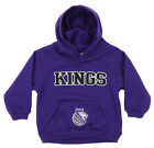 OuterStuff NBA Infant and Toddler's Sacramento Kings Fleece Hoodie, Purple on eBay