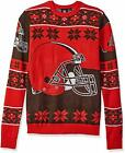 Forever Collectibles NFL Unisex Cleveland Browns Big Logo Ugly Sweater $39.99 USD on eBay