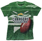 San Diego Chargers TOUCHDOWN NFL Youth T-Shirt Shirt, Green $8.99 USD on eBay