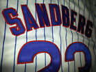 CHICAGO CUBS #23 Ryne Sandberg Throwback Jersey white New Tag dual patch sewn on Ebay
