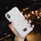Luxury GG Case Cover For Apple iPhone 6 7 8 Plus X XS Max XR Samsung S8 S9+Note9
