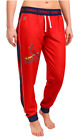 KLEW MLB Women's St. Louis Cardinals Cuffed Jogger Pants, Red on Ebay