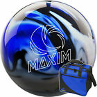 Bowling Ball and Bag Set ebonite Maxim Captain Midnight and Basic Bag Blue