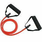 Resistance Bands Yoga Pilates Abs Exercise Fitness Workout Tube With Handles image