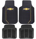 New CHEVY ELITE Front / Rear / Back Car Truck SUV All Weather Rubber Floor Mats