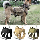 Used, Outdoor Training K9 Dogs Harness Military Adjustable Molle Nylon Vests Accessory for sale  Shipping to Canada