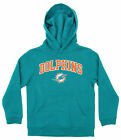 OuterStuff NFL Youth Boys Team Color Fleece Hoodie, Miami Dolphins $18.99 USD on eBay