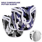 Golf Club Mallet Putter Cover Headcover Camouflage Pattern Head Protective Bag
