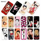 Betty boop cartoon soft TPU case for iphone 8 7 6 6S Plus X XS Max XR 5 5S SE $4.95 USD on eBay