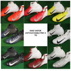 New Nike Vapor Untouchable Pro 3 TD Football Cleats Black White Silver 917165