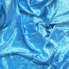 Crushed Velvet Fabric Upholstery Material Premium Stretch Craft 150cm Wide <br/> FREE P&P - PREMIUM, LUXURY QUALITY - 41 COLOURS