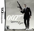 Nintendo DS James Bond 007 QUANTUM OF SOLACE Brand New Video Game $12.99 USD on eBay