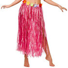 WO_ QA_ HAWAIIAN HULA GRASS FLOWER PARTY DRESS SKIRT BEACH DANCE ADULT COSTUME C