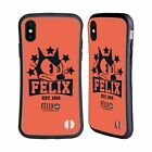 OFFICIAL FELIX THE CAT VINTAGE ATHLETIC HYBRID CASE FOR APPLE iPHONES PHONES