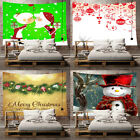 Festive Christmas Tapestry Wall Hanging Decoration for Room 5 Sizes Available