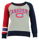 Reebok NBA Youth Girls (7-16) Montreal Canadiens Amethyst Fleece Crew, Grey $17.5 USD on eBay
