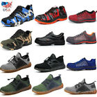 US Men's Work Safety Shoes Steel Toe Boots Indestructible Ultra X Hiking Sneaker