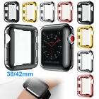 Case Hard Bumper Full Cover Screen Protector For Apple Watch Series1 2 3 38/42mm