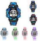 Boys Girl Outdoor Multifunction Waterproof Sports Electronic Wrist Watch Watches image