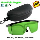 Indoor Hydroponics Grow Light Room Glasses Goggles Anti UV for HID&HPS MH & LED picture