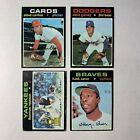 1971 TOPPS BASEBALL - YOU PICK YOUR CARDS - 1-315 G VG EX - BUY 1 GET 1 50% OFF! on Ebay