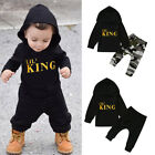 Kyпить Toddler Kids Baby Boy Letter Hoodie T Shirt Tops+Camo Pants Outfits Clothes Set на еВаy.соm