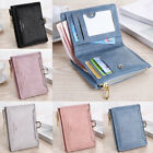 Small Women Zipper RFID Wallet Fashion Lady Solid Coin Pocket Purse Clutch Bags image