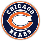 "Chicago Bears Combo Logo NFL Sport Car Bumper Sticker Decal ""SIZES"" $4.25 USD on eBay"
